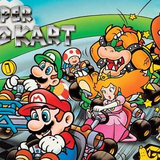 Ah ah ! Le premier Super Mario Kart était génial !