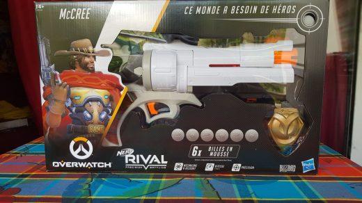 Le Colt de McCree d'Overwatch, par NERF !