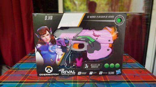 Le pistolet NERF D.VA est celui que j'attendais le plus !