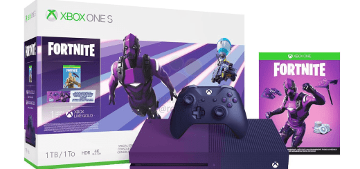 Xbox One S édition collector Fortnite ^^ !