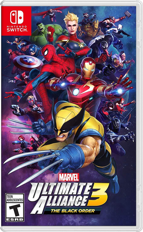 Jaquette Marvel Ultimate Alliance 3