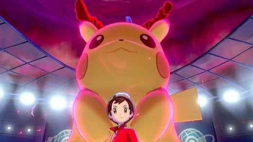 Un Pikachu géant !