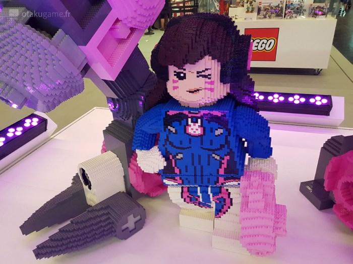 D.Va en LEGO était présente à la Gamescom 2019 !