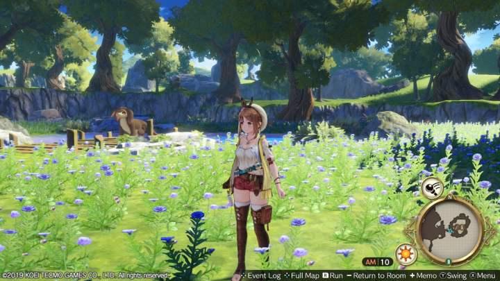 Le jeu est juste magnifique sur l'écran de la Switch !