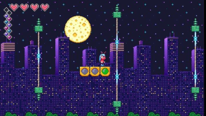 La lune on dirait du gruyère WTF ?