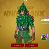 Skin Spain de Noël Gratuit Fortnite