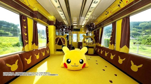 Train Pokémon Pikachu