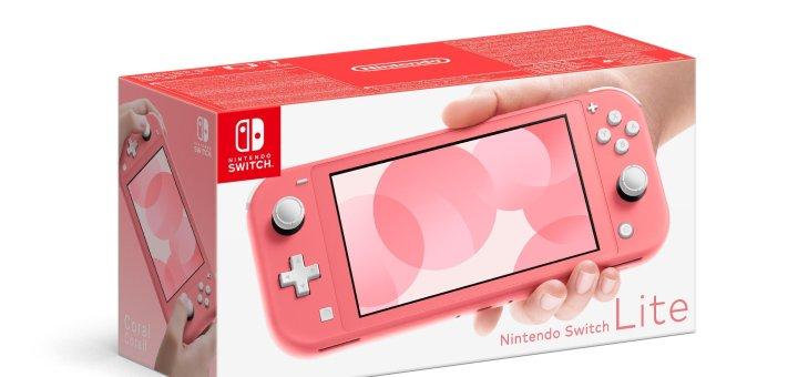 La Nintendo Switch Lite sera disponible dans un nouveau coloris !
