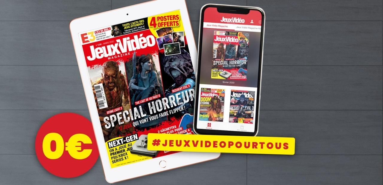 3 mois de Jeux Vidéo Magazine gratuits !