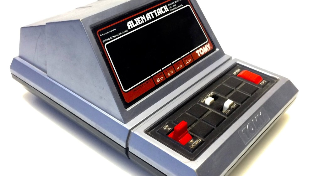 La TOMY ALIEN ATTACK, probablement ma première console !