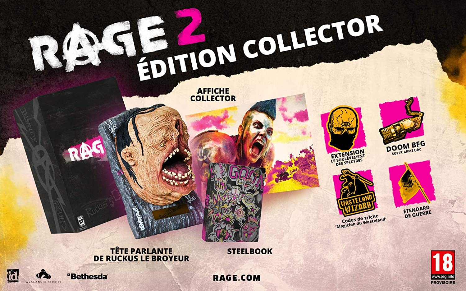 Rage 2 édition collector
