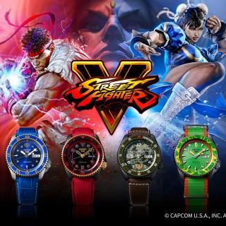 Seiko X Street Fighter V