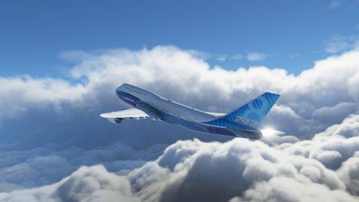 Microsoft Flight Simulator et ses magnifiques nuages !