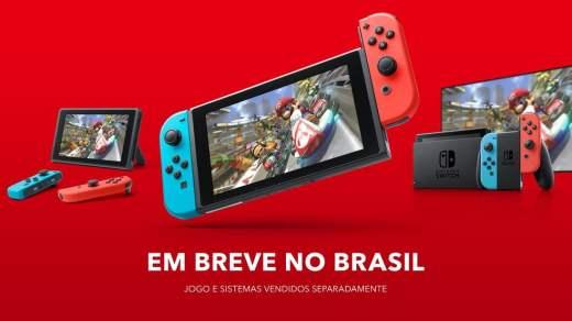 La Nintendo Switch enfin commercialisée au Brésil !