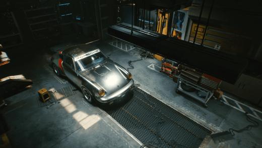 Porsche 911 Cyberpunk 2077