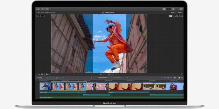 Rassurez-vous : Le MacBook Air sera largement équipé pour faire du montage vidéo !