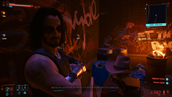 Johnny Silverhand a un background très lourd.