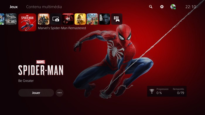 Spiderman Remastered est offert sur certaines versions de Miles Morales ^^ !