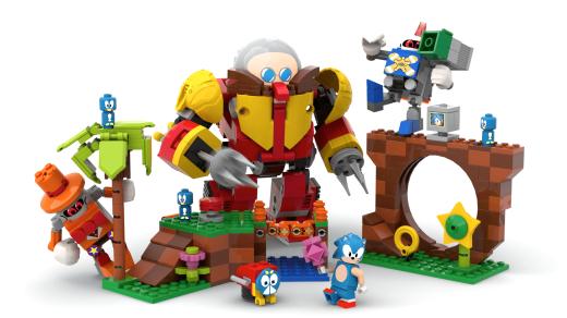 LEGO Sonic Mania Green Zone