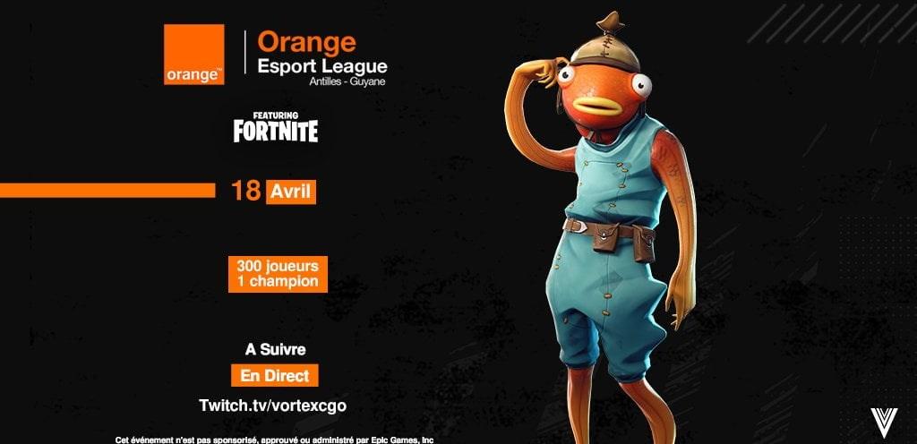 Orange Esport League Fortnite