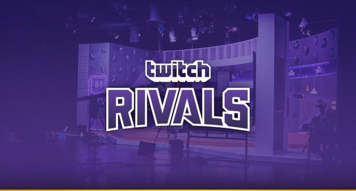 Twitch Rivals, la compétition eSport de Twitch !