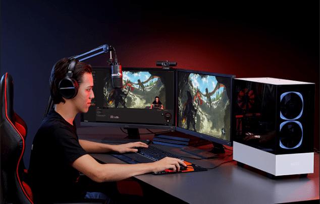 Un setup de streaming Avermedia