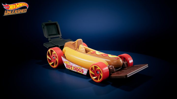 Y'a une voiture Hot Dog...