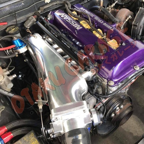 small resolution of otaku garage sr20 billet intake manifold