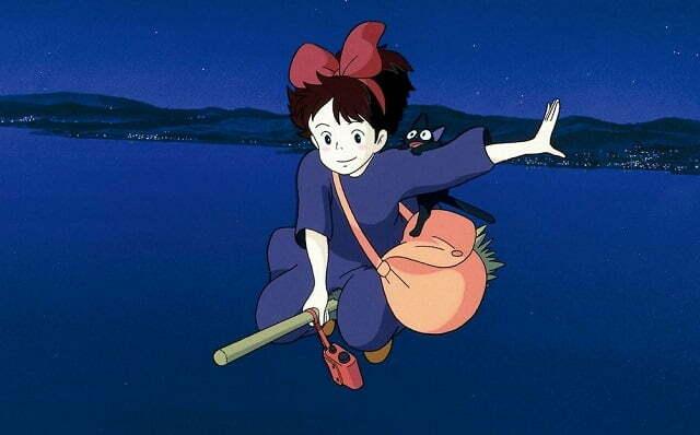 6 Anime Movies tương tự Kiki's Delivery Service