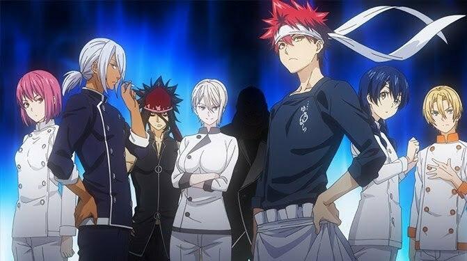 6 Anime tương tự Shokugeki no Souma (Food Wars)