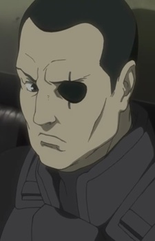 Saito from Ghost in the Shell