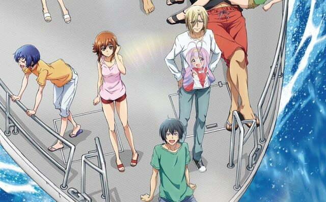 Anime Grand Blue sẽ ra mắt vào mùa hè 2018