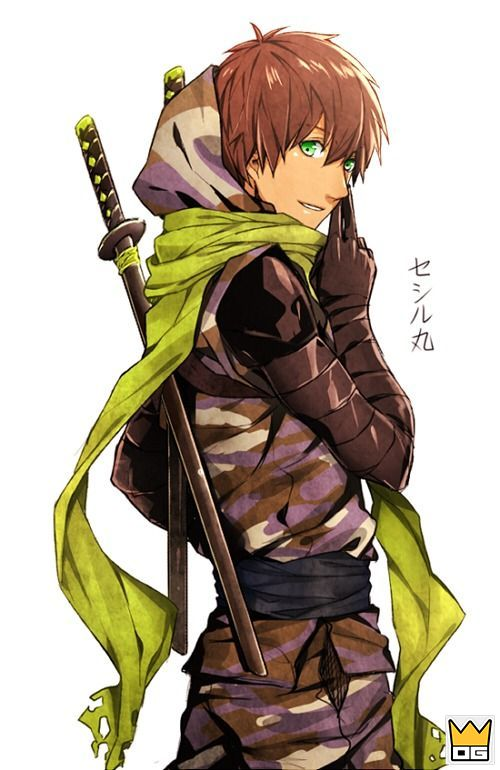 ảnh ninja anime boy
