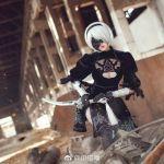 Nóng mắt với cosplay cô nàng 2B trong Nier: Automata