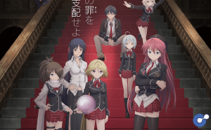 Anime Movie thứ 2 của Trinity Seven tung trailer mới