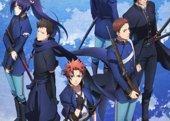 Anime Peacemaker Kurogane đăng tải teaser mới ấn định ngày ra mắt