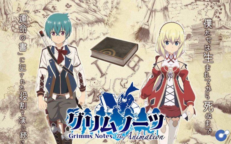 Anime Grimms Notes the Animation tung trailer mới ấn định ngày ra mắt