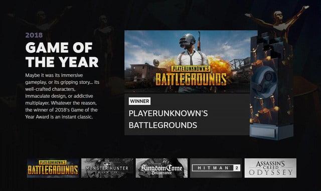 """""""Dead game"""" PUBG bất ngờ nhận danh hiệu game hay nhất năm 2018"""