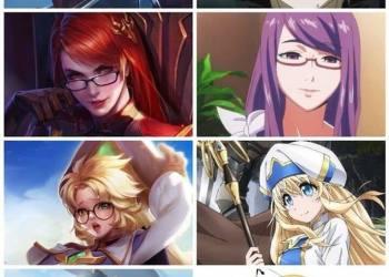 LMHT vs Anime