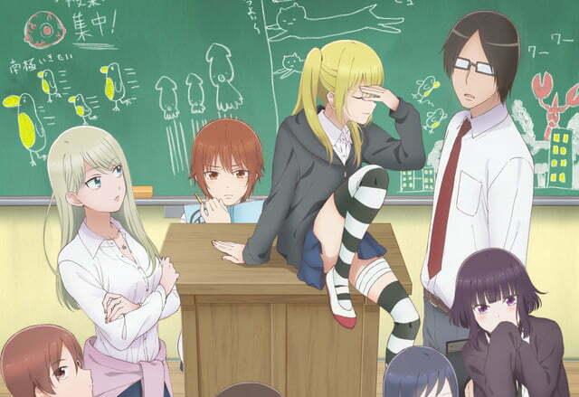 Anime Joshi Kousei no Mudazukai ấn định thời gian lên sóng