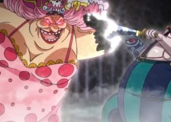 One Piece 945: Queen hóa khủng long cổ dài nhưng vẫn ăn hành bởi Big Mom