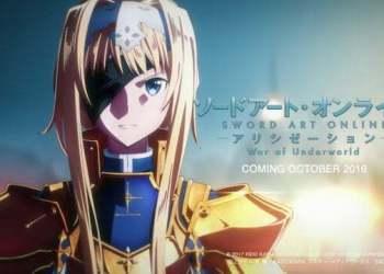 Sword Art Online: Alicization - War of the Underworld sẽ chiếu sớm vào tháng 10