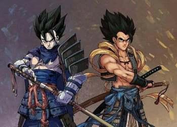 Ngắm dàn nhân vật Dragon Ball cực ngầu trong trang phục Samurai Nhật Bản