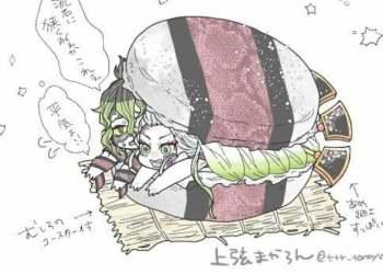 Cười sái hàm khi ngắm dàn nhân vật trong Kimetsu no Yaiba trở thành nhân của món bánh kẹp