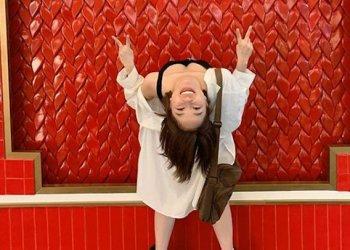 """Hot Girl Trâm Anh lại khiến dân tình tròn mắt với phong cách chụp """"ngã ngửa"""" bá đạo"""