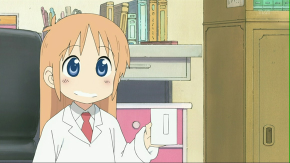 A picture of the Professor from the My Ordinary Life anime.