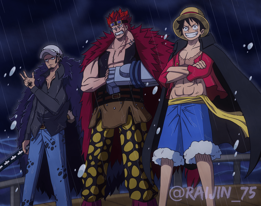 Kaido vs 4 monsters (luffy, zoro, sanji dan jinbe)! Episode Luffy Vs Kaido Full Fight Sub Indo