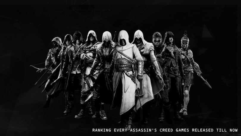 Ranking Every Assassin's Creed Games