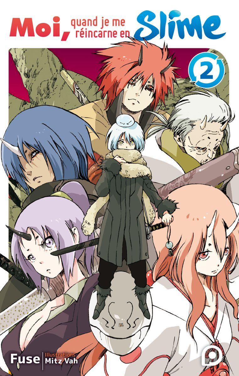 Moi Quand Je Me Réincarne En Slime Manga : quand, réincarne, slime, manga, Quand, Réincarne, Slime, Light, Novel, O-Taku, Manga, Lounge