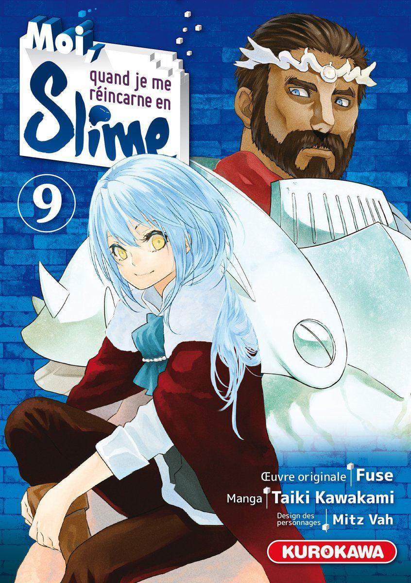 Moi Quand Je Me Réincarne En Slime Manga : quand, réincarne, slime, manga, Quand, Reincarne, Slime, O-Taku, Manga, Lounge